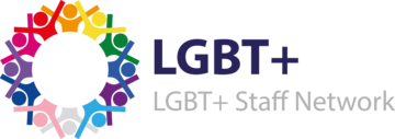 LGBT+ Staff Network logo